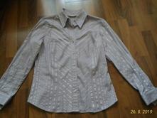Světle fialová košile, marks & spencer,40