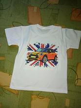 Tričko s mini cooprem vel. 134, 134