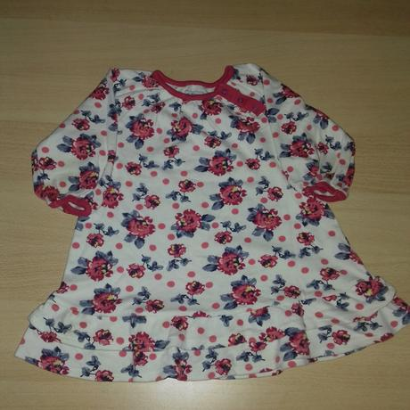 Šaty s kytičkami, ladybird,86