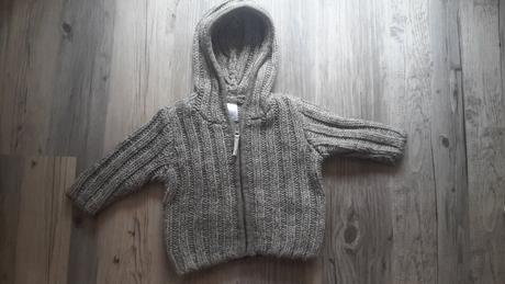 Svetr s kapucí na zip, 80
