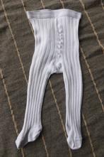Bílé žebrované punčocháče, 62