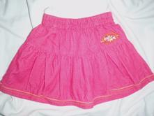 Sytě růžová manžestrová sukně, girl2girl,86