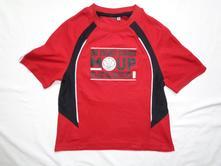Luxusní červenočené sportovní tričko pro basketbal, c&a,116