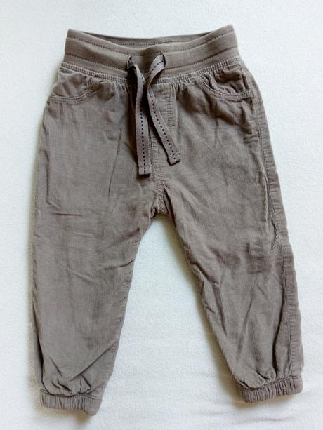Manžestrové kalhoty lupilu, lupilu,80