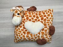 Dekorativní polštář - žirafa, 30,30
