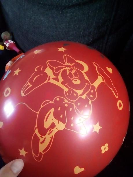Latexový balónek mickey mouse,