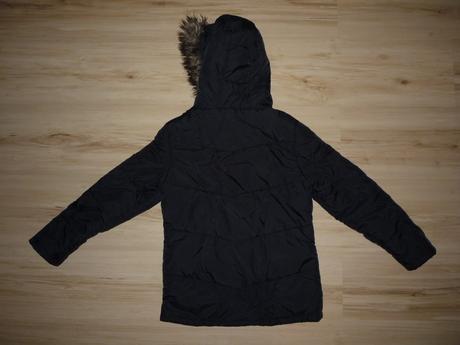Černá bunda podšitá flísem, debenhams,140