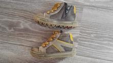 Kožené jarní-podzimní boty bama, bama,22