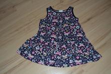 Nenošené šaty z hm, vel. 80 (9-12 měs.)., h&m,80