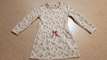 Bavlněné šaty, teplejší, vel. 128, dopodopo,128