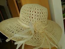 Nádherný smetanový klobouk, 58