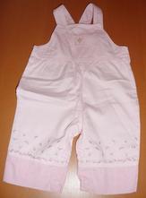 Laclové bavlněné kalhoty, carter's,62