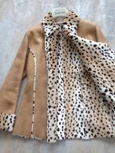 Kabát z umělé kožešiny leopard zn.lipstick vel. s, s
