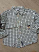 Kostkatá košile, h&m,92