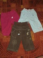 Podšité zateplené kalhoty c&a vel. 68, c&a,68