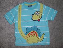 Tričko s dinosaurem, cherokee,80