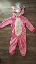 Teplý plyšový pyžamový overal jednorožec, george,98