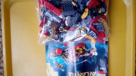 Lego atlantis - hlubokomořské rypadlo,