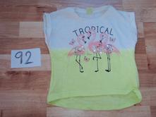 Dívčí tričko s plameňákem, kiki&koko,92