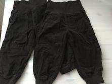 2x manž. kalhoty, vel. 86, lupilu,86