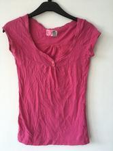 Růžové tričko zara, zara,s