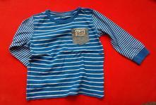 Modro bílé triko next, next,98