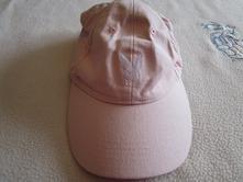Pěkná růžová bavl. kšiltovka, na 8-14 let, 134