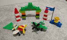 Lego duplo planes 10510 ripslingerův letecký závod,