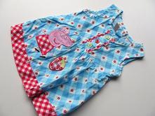 Dívčí šaty peppa pig č.087, george,80