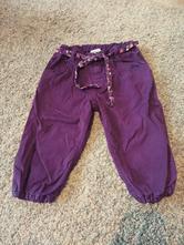 Plátěné kalhoty s podšívkou, h&m,86