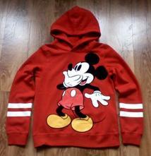 Mikina mickey mouse od h&m,bez známek nošení, h&m,146
