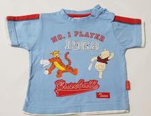 Bavlněné tričko s medvídkem pů, disney,74