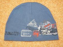 Bavlněná čepice s motorkou, 98