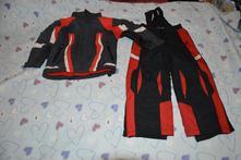 104 110 zimní bunda oteplováky komplet, 110