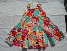 Šaty marks spencer - květované vel. 74, marks & spencer,74