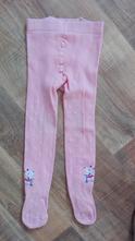 Růžové punčocháče s myškami vel.86, 86