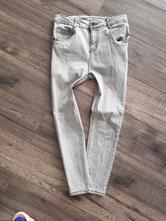 Šedé slim džíny zara, zara,140