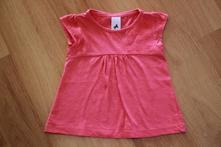 Halenka, tričko s výšivkou c&a růžové, vel. 92, c&a,92