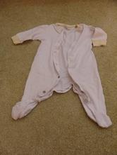 Overal pyžamko bílé, 56