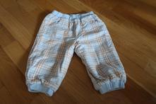 Vyteplené kalhoty na zimu 6-9 měsíců, tulec trend,74