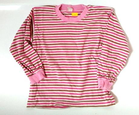 P71 - tričko růžový proužek, 116