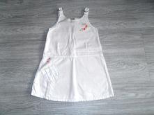Dětské plátěné šaty, vel. 92, 92