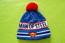 Teplá čepice superman 92/104, h&m,104