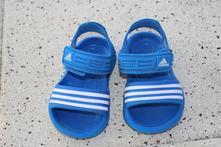 Dětské gumové sandály adidas vel. 24, adidas,24