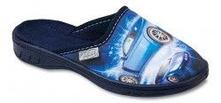 Chlapecké pantofle, papuče, befado,30