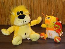 Dětská plyšová hračka - lev,