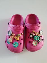 Dětské žabky a kroksy   Sytá růžová - Dětský bazar  ff1e0f1ba8