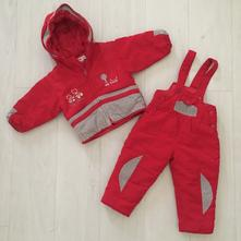 Zimní komplet - bunda a oteplováky (2 roky), 92