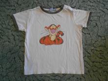 Tričko s tygříkem, disney,98