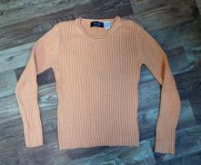 Oranžový svetr veselé barvy, 40